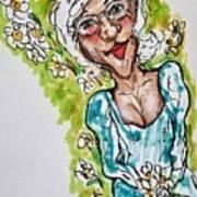 Grandma Hippie Poster