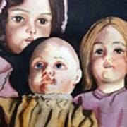 Grandma's Dolls Poster