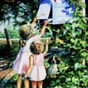 Grandmas Letter Poster