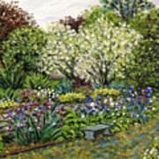Grandmother's Garden Spring Blossoms Poster