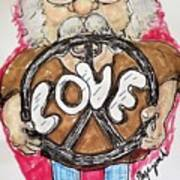 Grandpa Hippie Poster