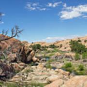Granite Dells Rocky Terrain  Poster