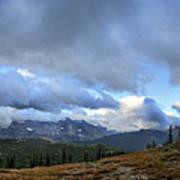 Granite Park Chalet - Glacier National Park Poster