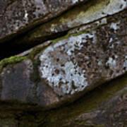 Granite Rock Close Up Poster