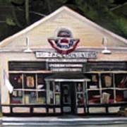 Granville Country Store Front View Poster