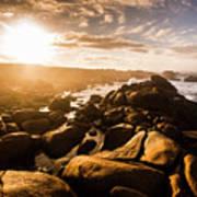 Granville Harbour Tasmania Sunrise Poster