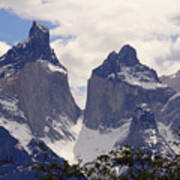 Gray Glacier Chile Poster