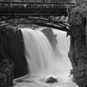 Great Falls In  Paterson Nj Poster