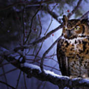 Great Horned Poster