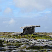 Great Rock Poulnabrone Portal Tomb Poster