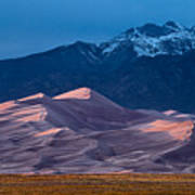 Great Sand Dunes  Colorado Poster