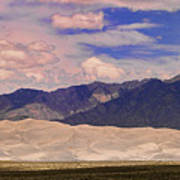 Great Sand Dunes Panorama 2 Poster