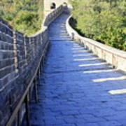 Great Wall Pathway Poster
