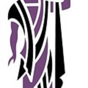 Greek Man In Purple Poster