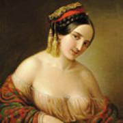 Greek Woman Poster