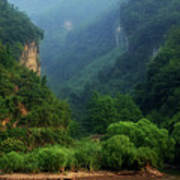 Green Along The Yangtze Poster