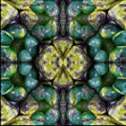 Green And Blue Stones 3 Poster