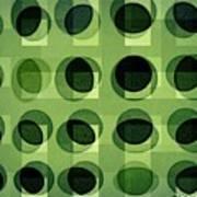Green Astigmatism Poster by Teodoro De La Santa