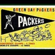 Green Bay Packers 1959 Pennant Poster