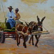 Green Cart Poster