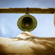 Green Church Bell Poster