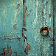 Green Door. Essaouira. Morocco Poster