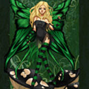 Green Fairy Of Poison Poster