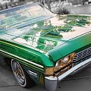 Green Low Rider Poster