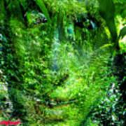 Green Man Poster