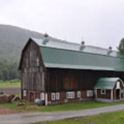 Green Mountain National Forest Barn Poster