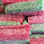 Green Red Sugary Sweet Poster