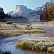 Green River, Frosty Morning Poster
