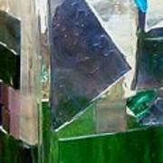 Green Vase Poster by Jamie Frier