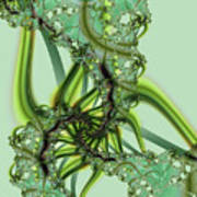 Green Vines Poster