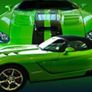 Green Viper Poster