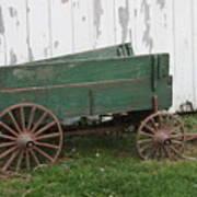 Green Wagon Poster
