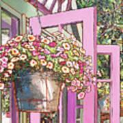 Greenhouse Doors Poster