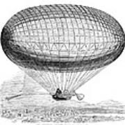 Greens Balloon, 1857 Poster