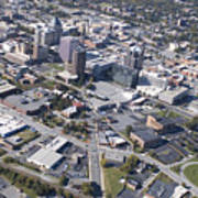Greensboro Aerial Poster