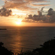 Grenadian Sunset I Poster