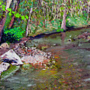 Gressy Creek Poster
