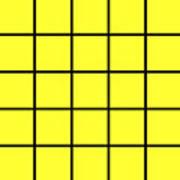 Grid In Black 05-p0171 Poster