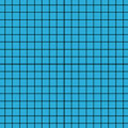 Grid In Black 18-p0171 Poster