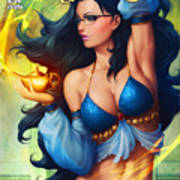Grimm Fairy Tales - The Magic Lamp Poster