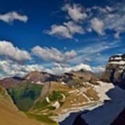 Grinnell Glacier Overlook Poster