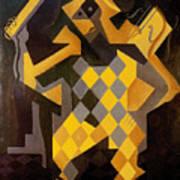 Gris: Harlequin Poster by Granger