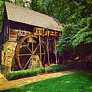 Gristmill - Charlottesville Virginia Poster