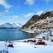 Grotfjord Norway Poster
