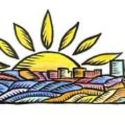 Guam Sunset 2009 Poster