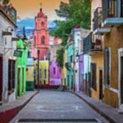 Guanajuato Backstreet Poster